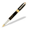 Broadwell Art Deco Rhodium and 22kt Gold Fountain Pen Kit