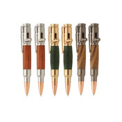 6 Mini 30 Caliber Bolt Action Pen Kit Variety Set
