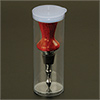 Clear bottle Stopper Display Tube
