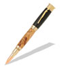 Over and Under Shotgun 24kt Gold Roller Ball Pen Kit