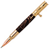 30 Caliber Bolt Action 24kt Gold Bullet Cartridge Pencil Kit