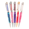 5 Shimmering Crystals Twist Pen Kit Starter Set