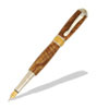 Broadwell Nouveau Sceptre Rhodium and 22kt Gold Fountain Pen Kit