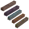 Color Grain 5 Assorted 5/8 in. x 5/8 in. x 5 in. Pen Blanks