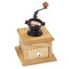 Antique Copper Housing Coffee Grinder Mechanism: 3 in. x 3 in. x 5 in. high
