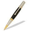 Majestic Squire Gold TN and Chrome Ballpoint Twist Pen Kit