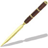 Segmented 24kt Gold Letter Opener Kit