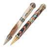 2 Southwest Turquoise Stone Twist Pen Kit Starter Package