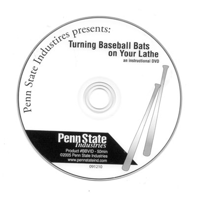 How to Turn a Baseball Bat DVD