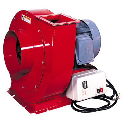7.5 HP  -  3 Phase Motor Blower: 3700CFM