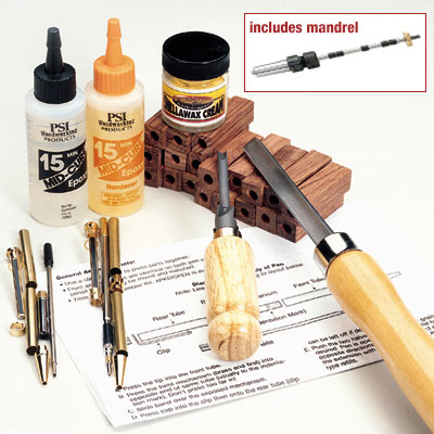 Basic Pen Making Starter Set w/#2 MT Mandrel