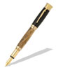 Over and Under Shotgun 24kt Gold Fountain Pen Kit