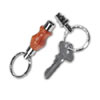 Detachable Key Ring Kit CHROME