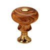 Classic Profile Drawer Knob Kit in Polished Brass