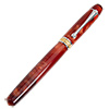 Majestic Jr. Black 22kt and Rhodium Closed End Rollerball Pen Kit