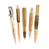 Bullet Cartridge Pen Bundle with Bolt Action Pen Kit: 5 Pen Kits, 5 Blanks, 2 FREE drill bits and 4