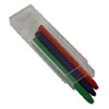 3 pack of 5.6mm colored sketch pencil lead