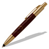 Vesper 24kt Gold Click Pen Kit with Stylus Tip