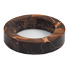 Bangle Bracelet Copper Mine  2-1/4in. ID, 3-3/8in. OD, 3/4in. Thick Acrylic Blank