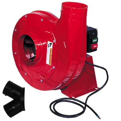 2HP - Single Phase Motor Blower: 1350CFM