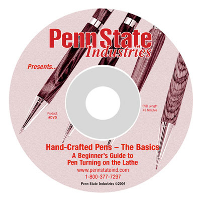 FREE Pen Making DVD