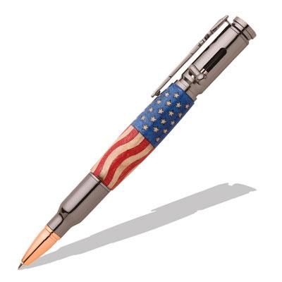 30 Caliber Bolt Action Gun Metal Bullet Cartridge Pen Kit At Penn