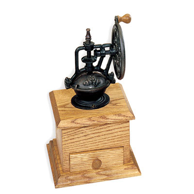 Handleiding Princess Coffee Maker And Grinder : Cast Bronzed Coffee Grinder Mechanism: 3 in.x4 in.x6 in. high at Penn State Industries