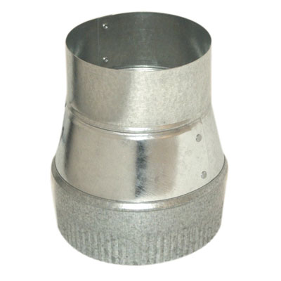 7 in. x 4 in.dia Economy Concentric Reducer - 26 gauge
