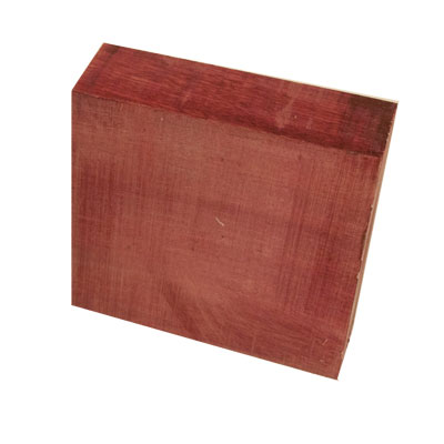 Popular Collection Purpleheart 2 in. x 6 in. x 6 in. Bowl Blank