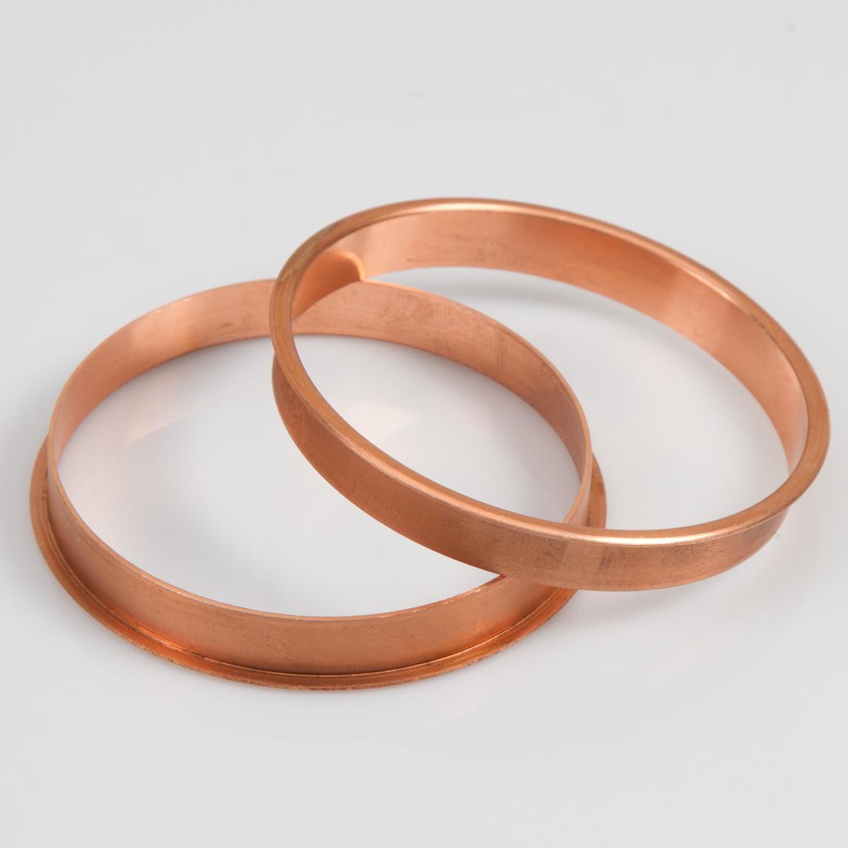 copper bangle bracelet kit size 8 5 at penn state industries