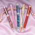 Princess Chrome with Blue Stones Pen Kit