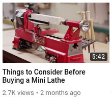 Things to Consider Before Buying a Mini Lathe