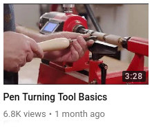 Pen Turning Tool Basics