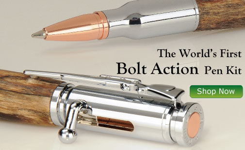Introducing the World's First Bolt Action Pen Kit