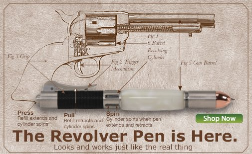 The Revolver is Here