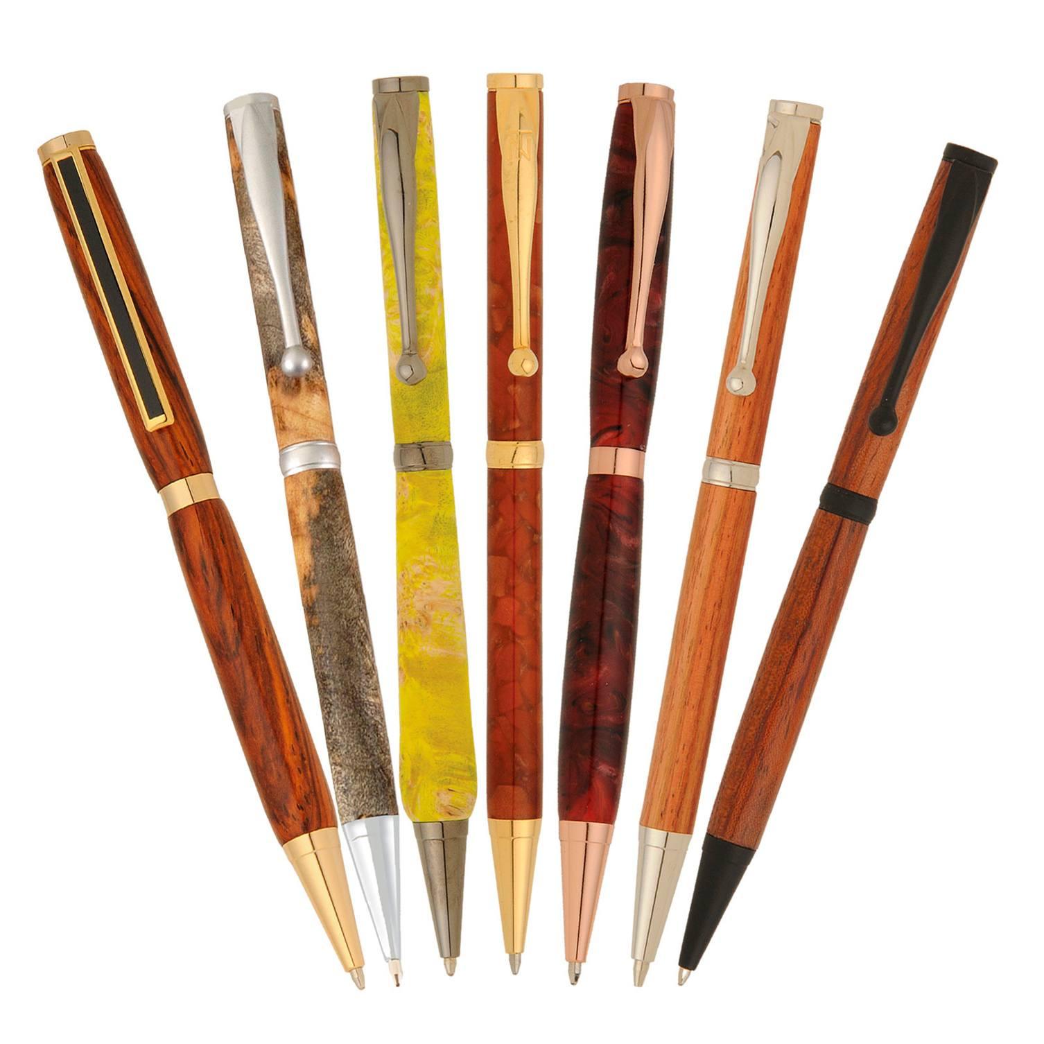 14 Slimline Pen Kit Variety Pack