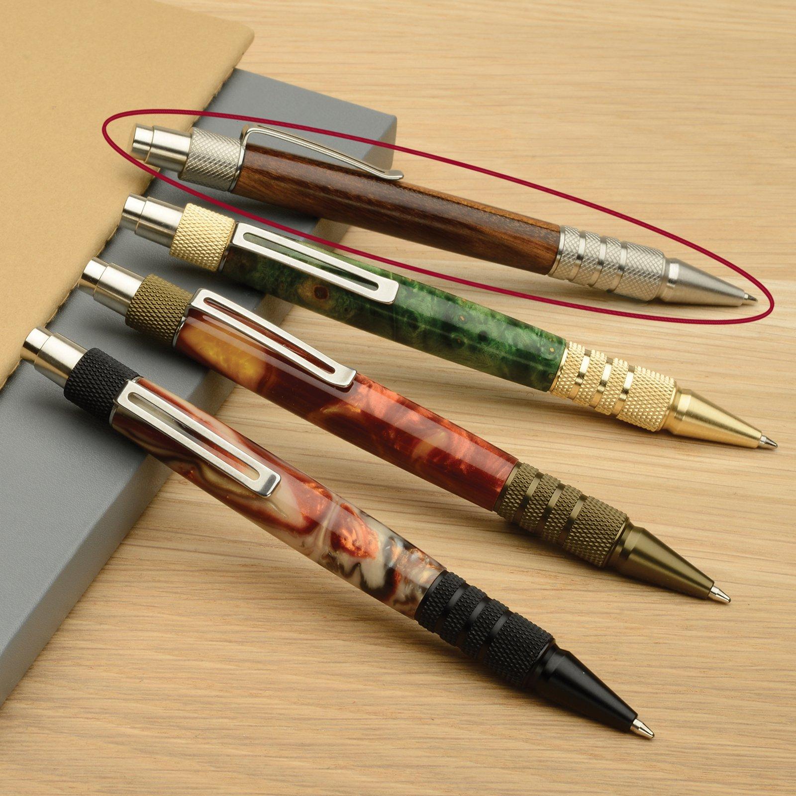 Trimmings Black Metal EDC Click Pen