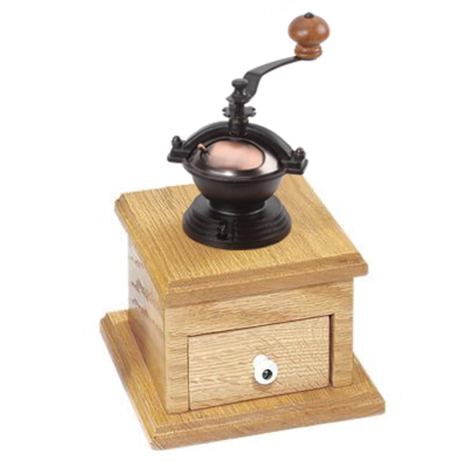 Antique Copper Housing Coffee Grinder Mechanism: 3 in. x 3 in. x 5 ...
