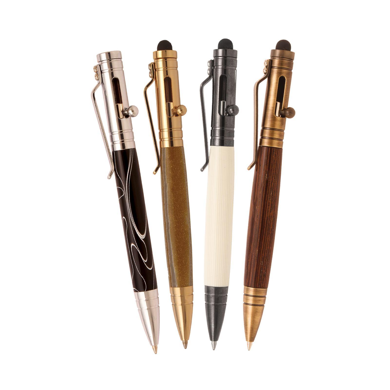 4 Bolt Action Tec Pen Kit Starter Set At Penn State Industries